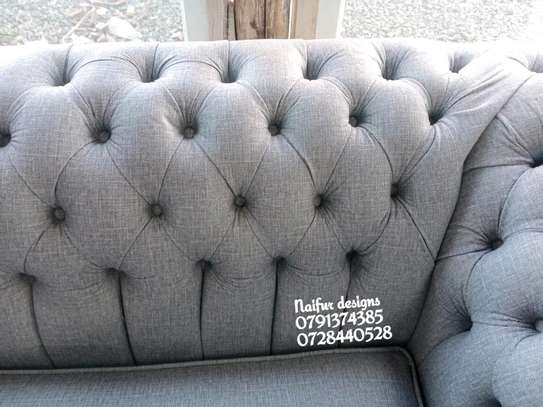 Two seater sofas/modern chesterfield sofas image 2