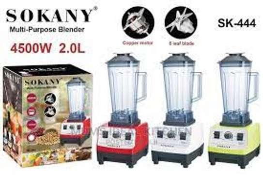 Sokany 2L 4500W Multipurpose Commercial Blender image 1