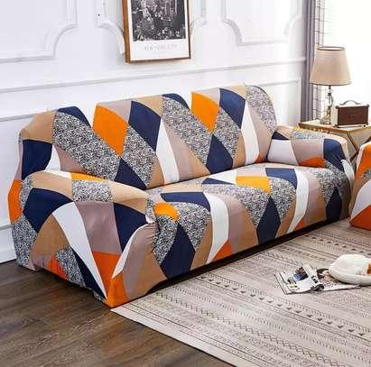 Orange print seat covers image 2