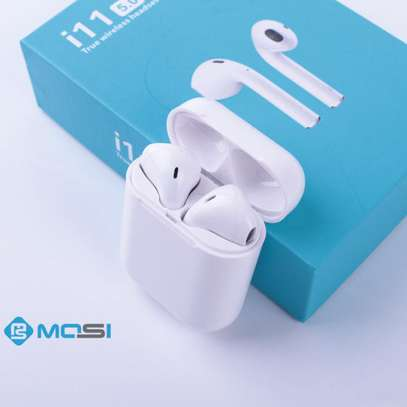 White I11 TWS Wireless Airpods for Mobile image 1