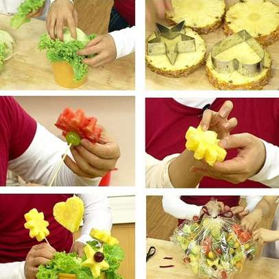 12 Pc Cookie Pastry Fruit Cutters Cutter Set image 3