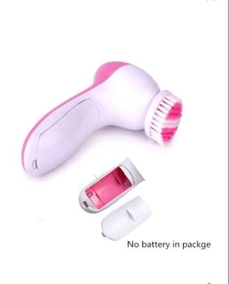5 in 1-Electric Facial Cleanser Brush Beauty Face Massager image 5