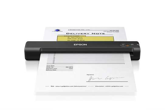 Epson Workforce ES-50 Portable Sheet-fed Document Scanner for PC and Mac image 1