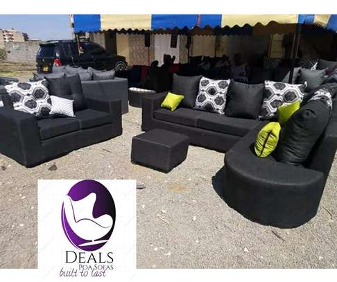 Six Seater Corner Seat + Sofabed/ Two Seater image 12