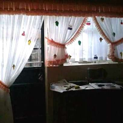 Home Kitchen curtains image 1