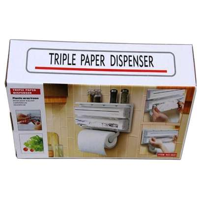 Tripple tissue dispenser