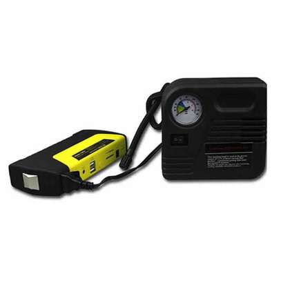 Car Jump Starter Power bank Battery with Air compressor 68800mAH Multi functional image 3