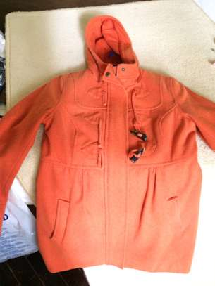 Warm ORANGE winter Jacket / Coat image 2