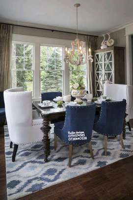 Six seater dining set/king size dining chair image 1