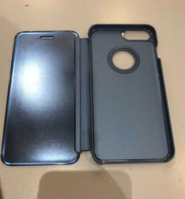 Luxury Mirror View Flip Book Case for iPhone 7/8 image 5