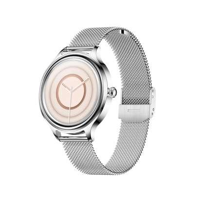 KMO5 Trendy Smart Watch for Women (Silver) image 1