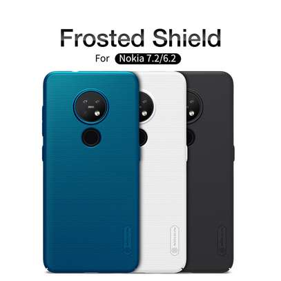 NILLKIN Super Frosted Shield Back Cover For Nokia 7.2 and Nokia 6.2 image 3
