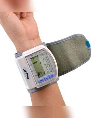 Blood Pressure Monitor Wrist Sphygmomanometer Pulse Meter LCD Display image 3
