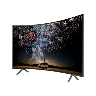 Samsung – 55″ – Ultra HD Curved Smart LED TV  image 1