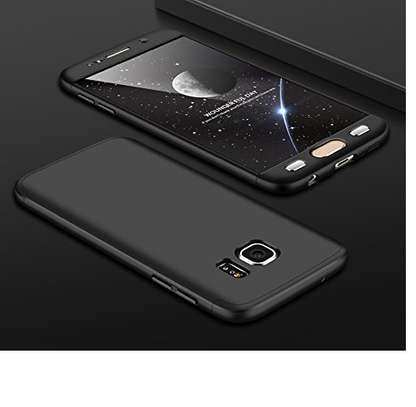 360 Degree Full Body Protection Phone Case For Samsung Galaxy S7 Edge Ultra-thin Case image 1