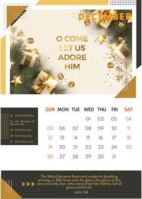 Bible Desk Calendars image 14