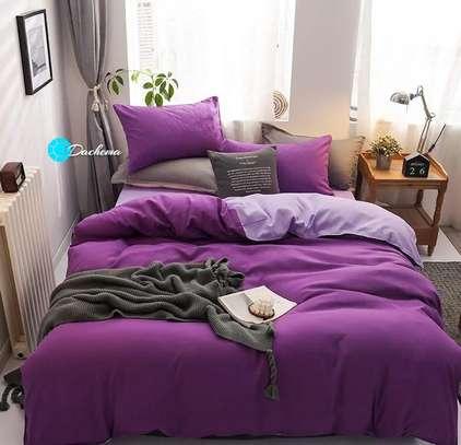 6*6 plain purple duvets image 1