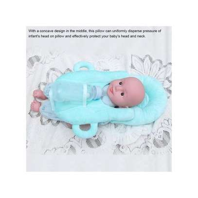 Newborn Baby Nursing Pillow With Milk Bottle Support Safety Protective Cushion image 3