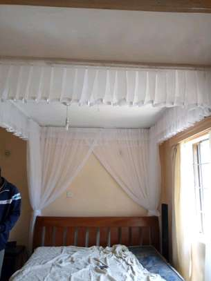 Custom Made Rail Shears Mosquito Nets image 6