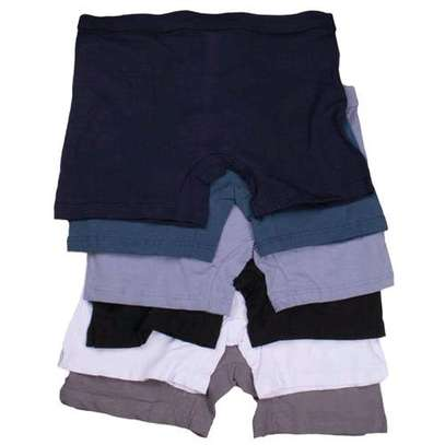 All colors assorted fashion 6 pack men's cotton boxers image 2