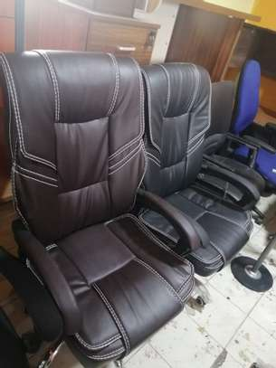 Executive high back office seat image 1