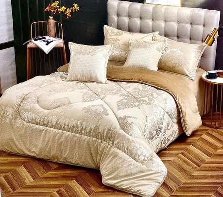woolen velvet duvets cream white image 1