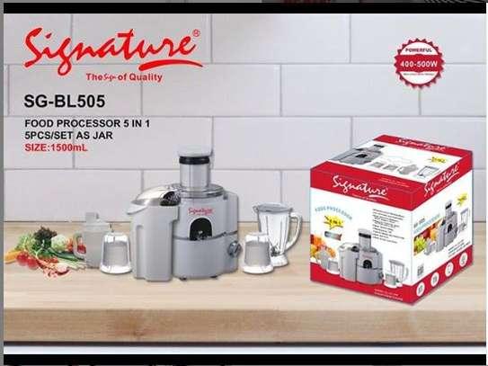 5 in 1 signature food processor image 1