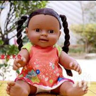 Kids Babies Black African Pretend Play Doll image 3