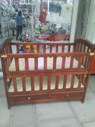 Wooden cot image 1