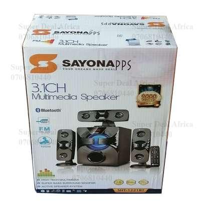 Sayona SHT-1221BT 9000 Watts Multimedia Subwoofer System Speaker image 1
