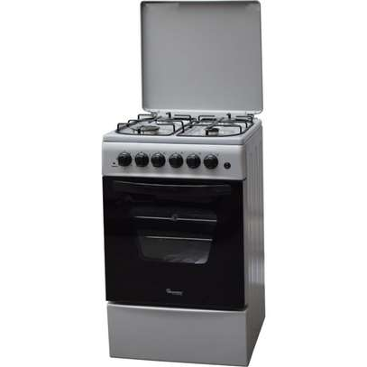 4GAS+ELECTRIC OVEN 50X50 SILVER COOKER- RF/316 image 1
