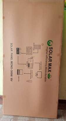 12 volts or 24 volts 300 watts solar panel,german made panels image 1