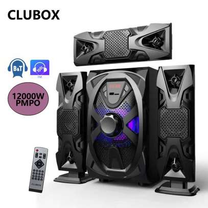 CLUBOX IC-1103 HI-FI BT Multimedia Bluetooth SUBWOOFER image 1
