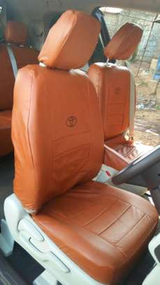 Cool brown car seat covers