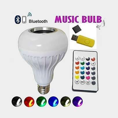 LED Music Bulb with Bluetooth and Music Player image 1