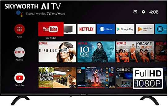 Skyworth 43 inches android smart digital frameless tvs image 1