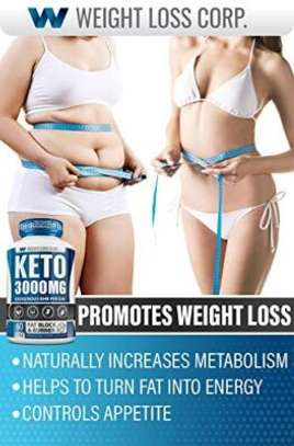 Weight Loss Keto Diet Capsules – Weight Loss Supplement – Ketogenic Carb Blocker and Natural Appetite Suppressant