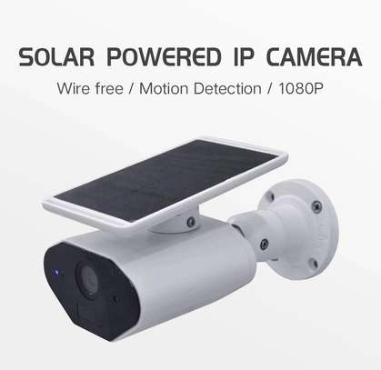 Solar IP IR 1080P camera 2MP motion detection security camera image 1