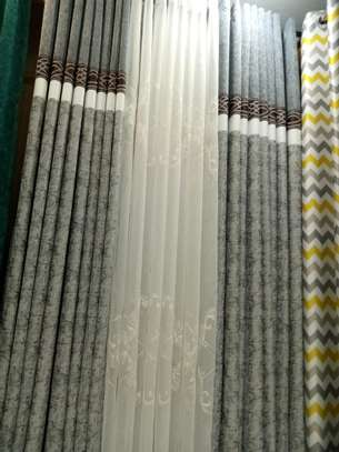 Quality flowered curtains image 1