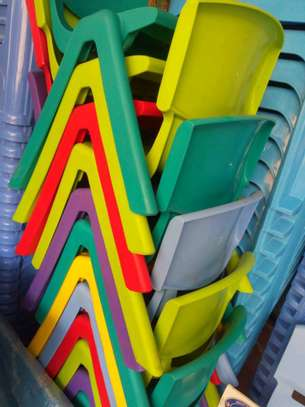 Kindergarten Plastic Chairs image 3