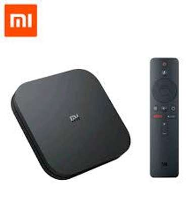 Mi Box S Xiaomi Original – 4K Ultra HD Android TV with Google Voice Assistant & Direct Netflix Remote Streaming Media Player image 2