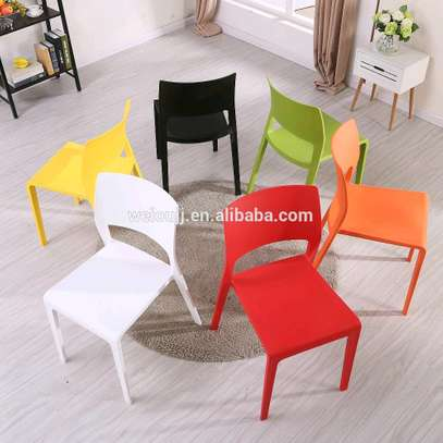 Stackable Outdoor/Hotel Plastic Chairs image 5
