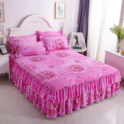 BED SKIRTS ELEGANT FOR YOUR ROOM ESTACE image 5