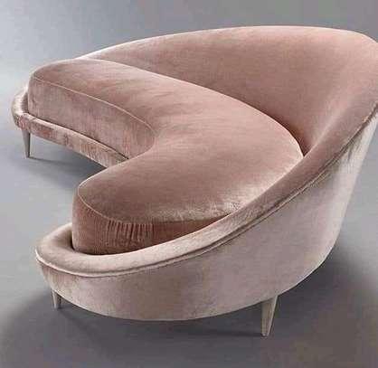 Round/swivel classic sectional U-sofas image 11
