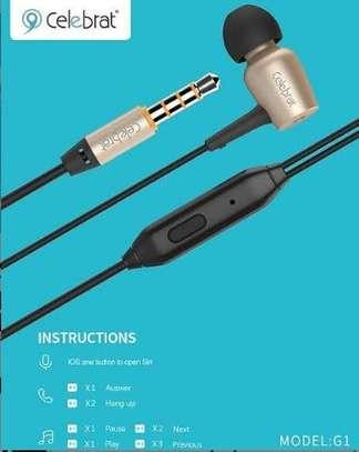 Celebrat powerful earphones image 1