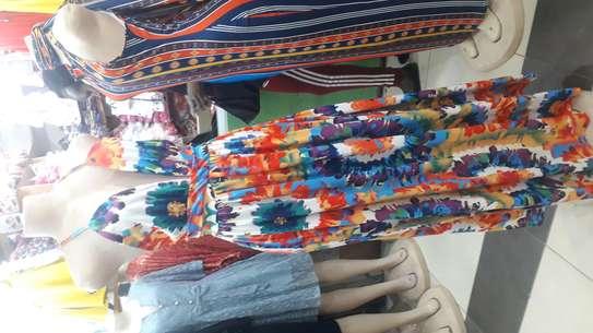 Summer crossed back dress image 2