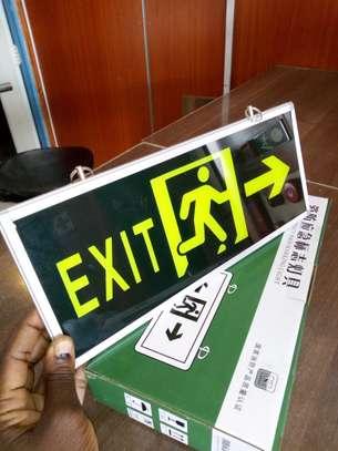 Illuminous Fire Exit signs image 1