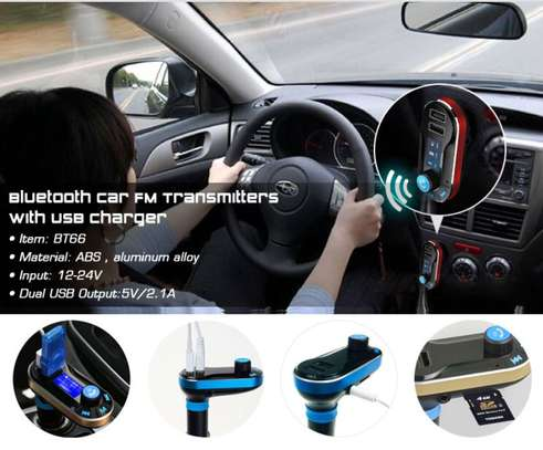 Blue tooth car transmitter kit image 1