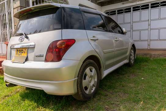 Toyota IST (Sport) 2005 Silver image 4