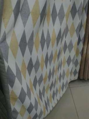 Plain blackout curtains image 3